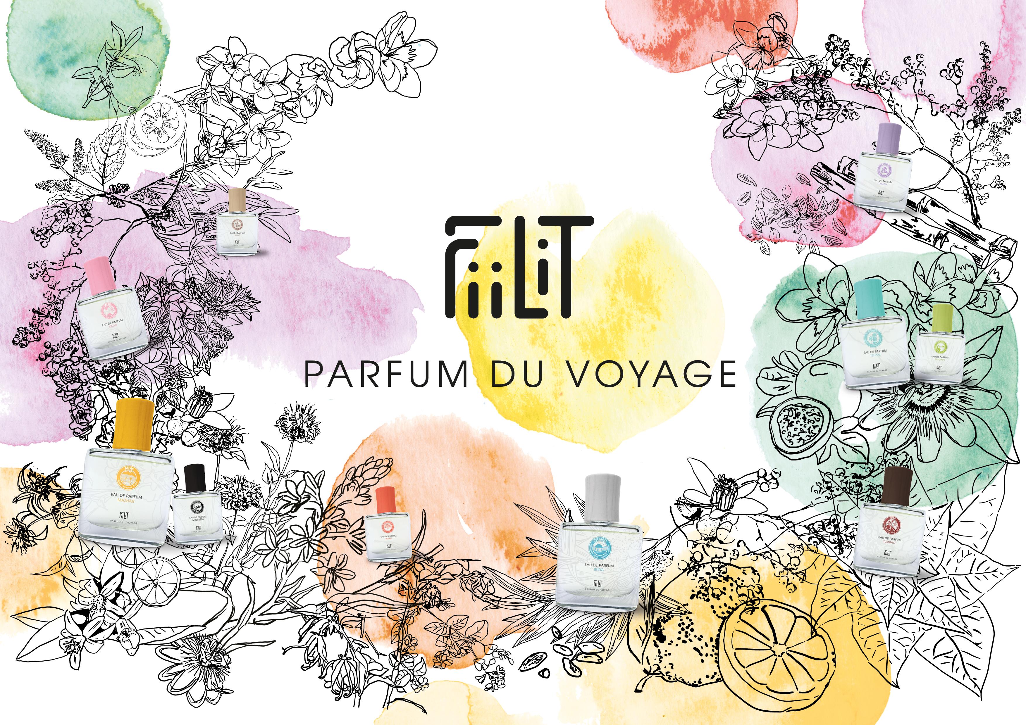 Le parfum du voyage FiiLit à Toulouse chez LC CONCEPT STORE BEAUTÉ